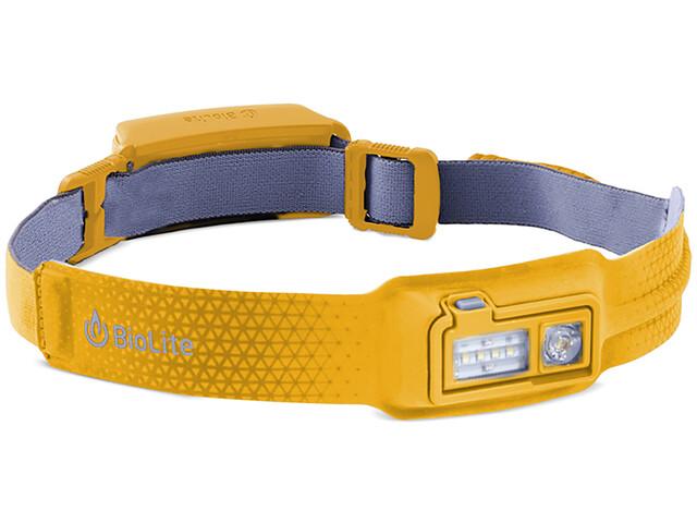 BioLite HeadLamp - Linterna frontal - amarillo